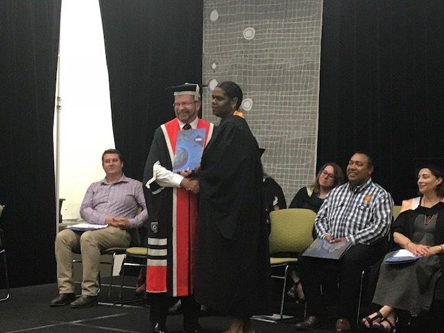 Kalano Members Graduate from Charles Darwin University