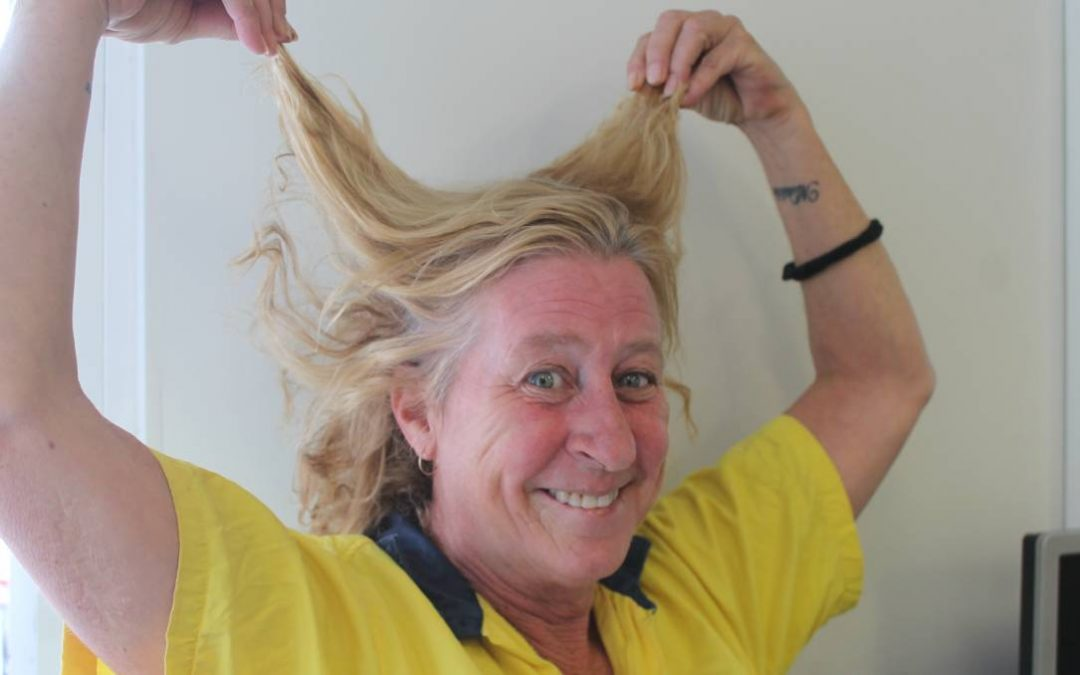 CDP Staff to sacrifice her hair for cancer