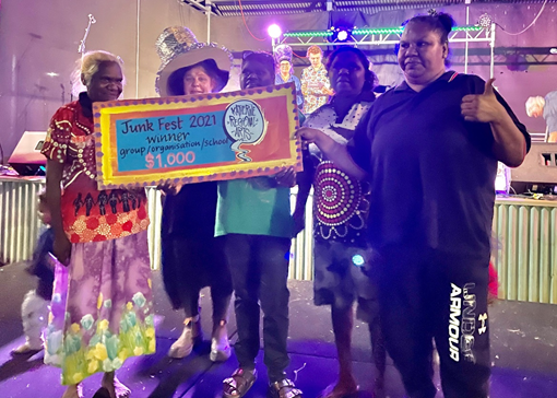 Kalano Wins at Junk Festival 2021